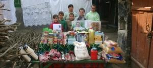 Помощь двум многодетным семьям от Ренато Усатого (статья spasibo.md)
