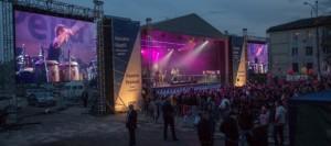 Грандиозный концерт прошел в эту пятницу в городе Хынчешты (репортаж телеканала TVC21)