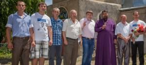 Ренато Усатый пожертвовал две тысячи евро на строительство церкви в селе Вишневка (статья aif.md)