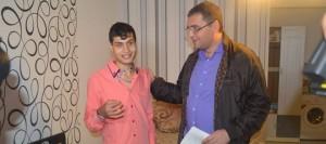 Ренато Усатый исполнил мечту сироты ( репортаж RTR Moldova)
