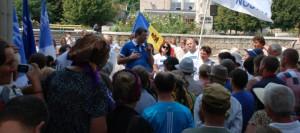 РЕНАТО УСАТЫЙ В СОРОКАХ: Я постараюсь кардинально изменить ситуацию в Молдове