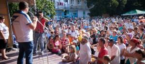 Ренато Усатый в Флорештах: «Изменить что- то в Молдове мы сможем только все вместе!»