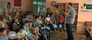 ВИДЕО// Ренато Усатый помог еще одному детскому реабилитационному центру (статья point.md)
