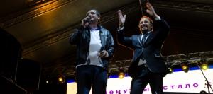 ВИДЕО // Ренато Усатый и Стас Михайлов в Рышканах: «Все для Вас!»
