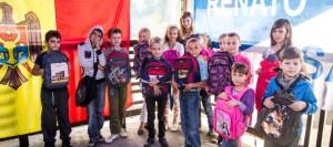 В День Знаний Ренато Усатый помог детям по всей стране