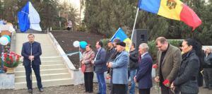 Благодаря Усатому в Шолданештах возведен памятник воинам-афганцам