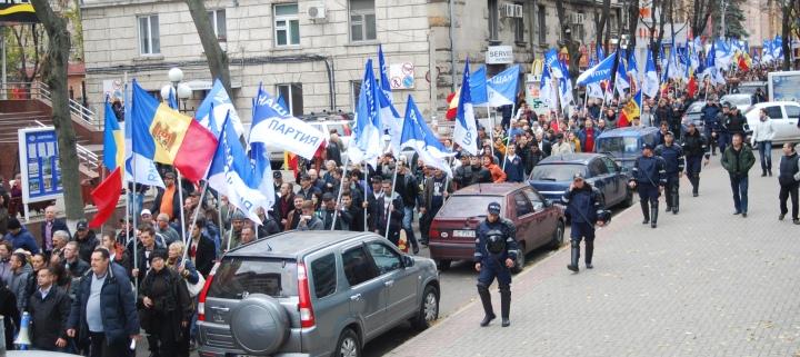 (VIDEO) Partidul Nostru, în fruntea protestelor din Moldova (Rossia-24)