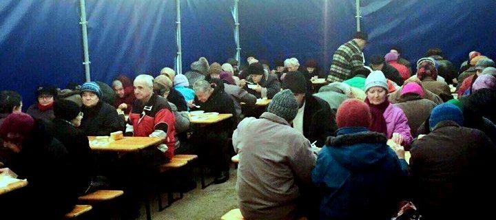(ВИДЕО,ФОТО) Социальная столовая в Бельцах – спасение для сотен нуждающихся!