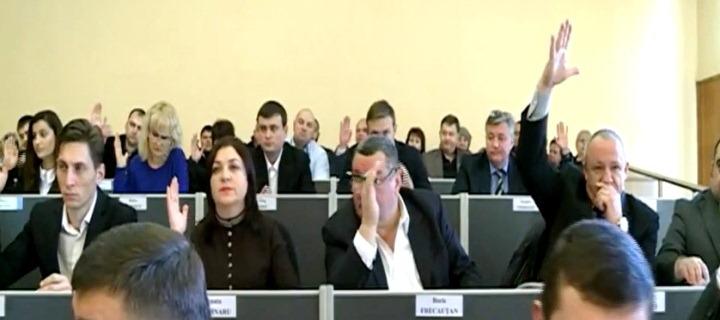 (ВИДЕО) По предложению Усатого в Бельцах повысили компенсации за отопление