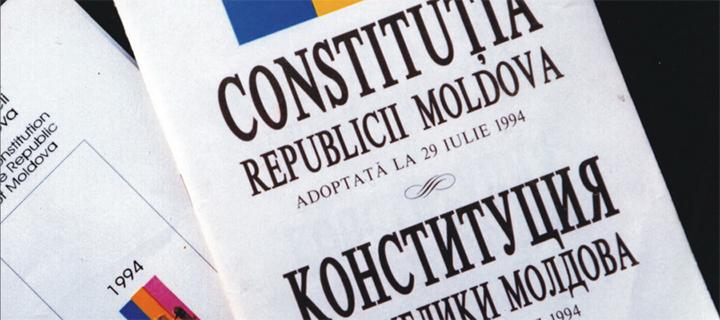 Усатый: Молдавская Конституция – инструмент в руках олигархов