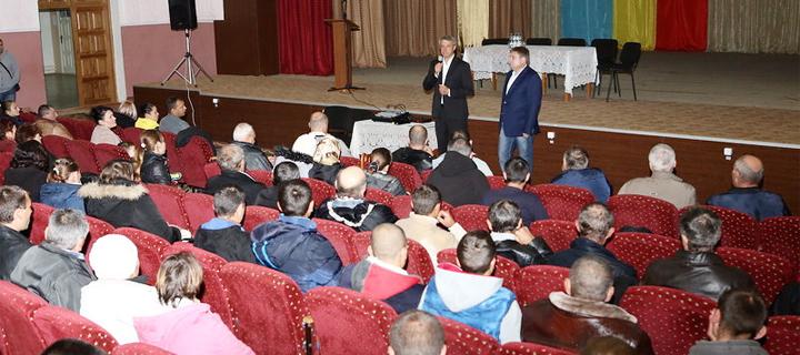 Чубашенко в Кантемире: Молдовой должны руководить патриоты!