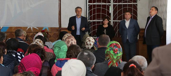 Чубашенко в Бессарабском р-не: Выход Лупу во второй тур обернется массовыми протестами