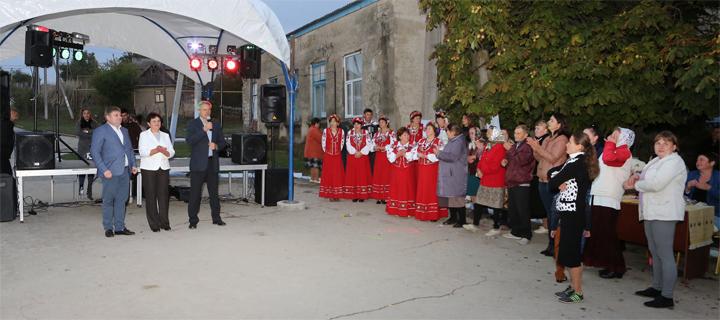 Дмитрий Чубашенко принял участие в Храме села Ферапонтьевка
