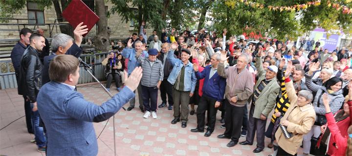 Дмитрий Чубашенко в Бессарабке: чтобы восстановить Молдову, нужно устранить режим Плахотнюка