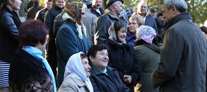 Чубашенко принял участие в праздновании храма села Садовое