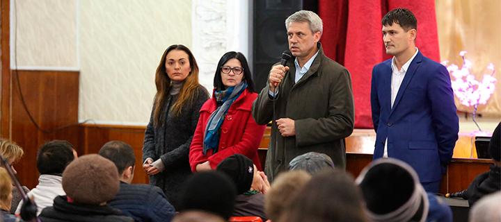 Чубашенко в Рышканах: Плахотнюк лишает Молдову будущего