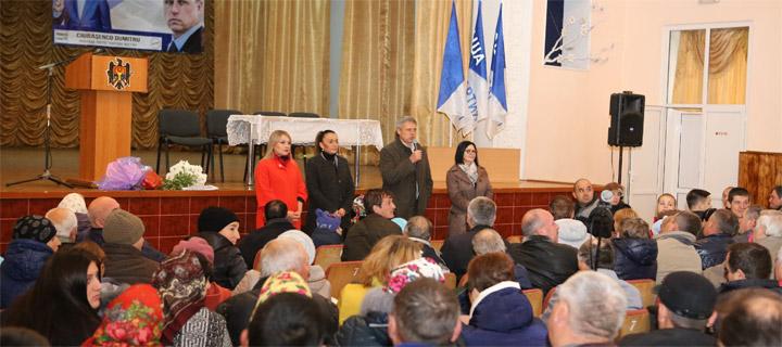 Чубашенко в Дрокии: «Наша Партия» — единственная сила, способная противостоять Плахотнюку