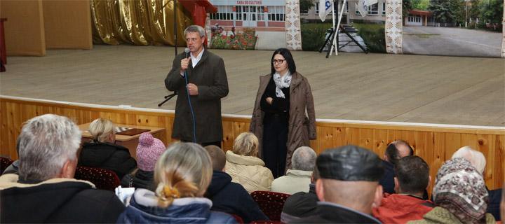 Ciubașenco la Cupcini: Trebuie de interzis cetățenilor străini să ocupe funcții publice
