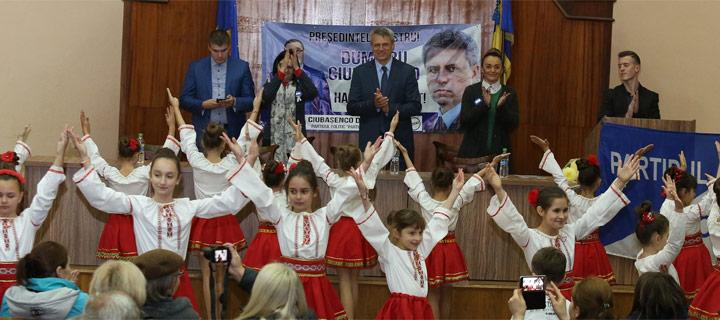 Чубашенко в Хынчештах: Действующую власть пора выбросить на помойку!