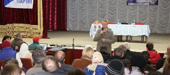 Ciubașenco la Ștefan Vodă: Relațiile cu Rusia trebuie restabilite