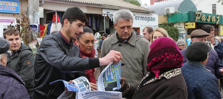 Чубашенко в Кагуле: Отмена патентов приведет к катастрофическому росту безработицы