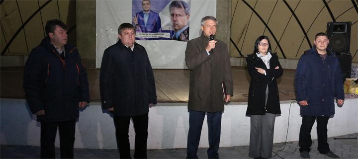Ciubașenco la Cimișlia: Cetățenii au șansa deja spre primăvară să încheie demontarea regimului