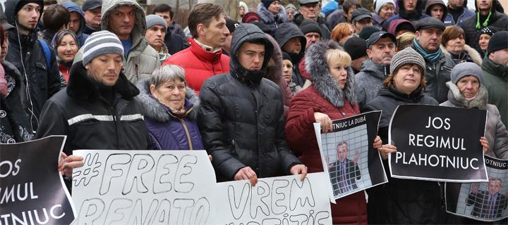 Протест у суда: Руки прочь от Ренато Усатого!