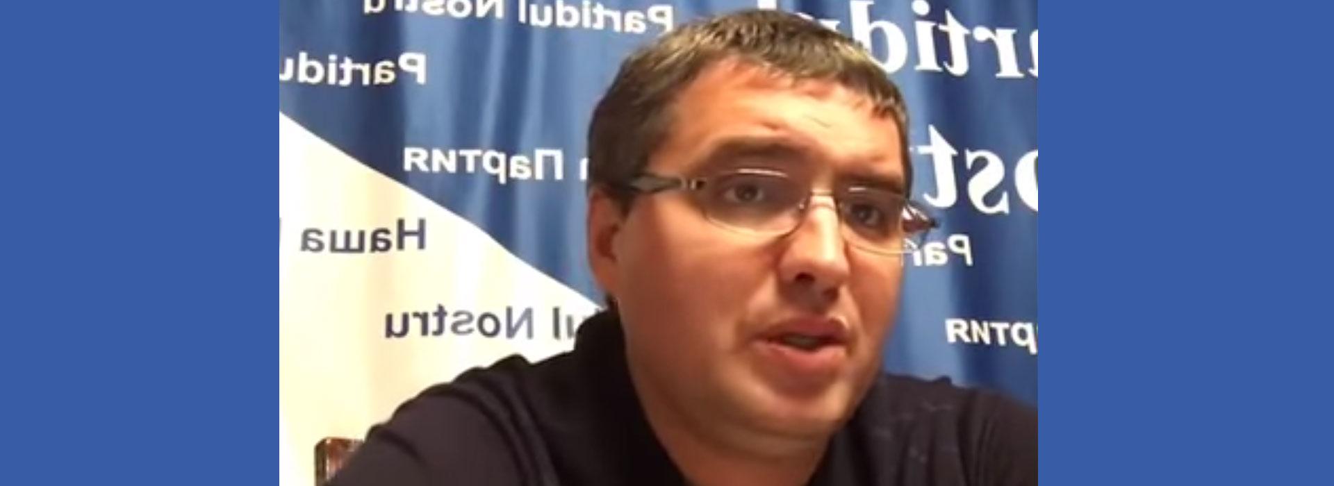 Usatîi declară că Plahotniuc intenționează să preia postul de prim-ministru
