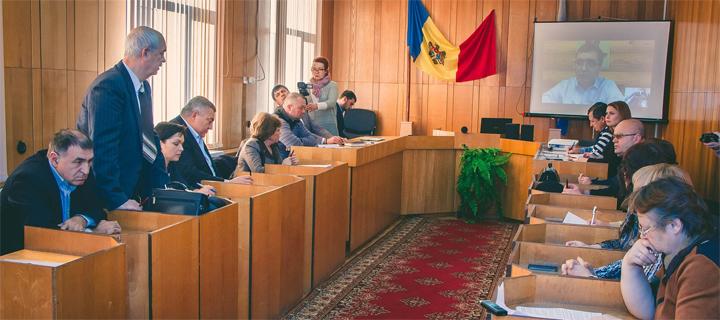 Usatîi a desfășurat o ședință de planificare online cu direcțiile reprezentanții direcțiilor Primăriei Bălți
