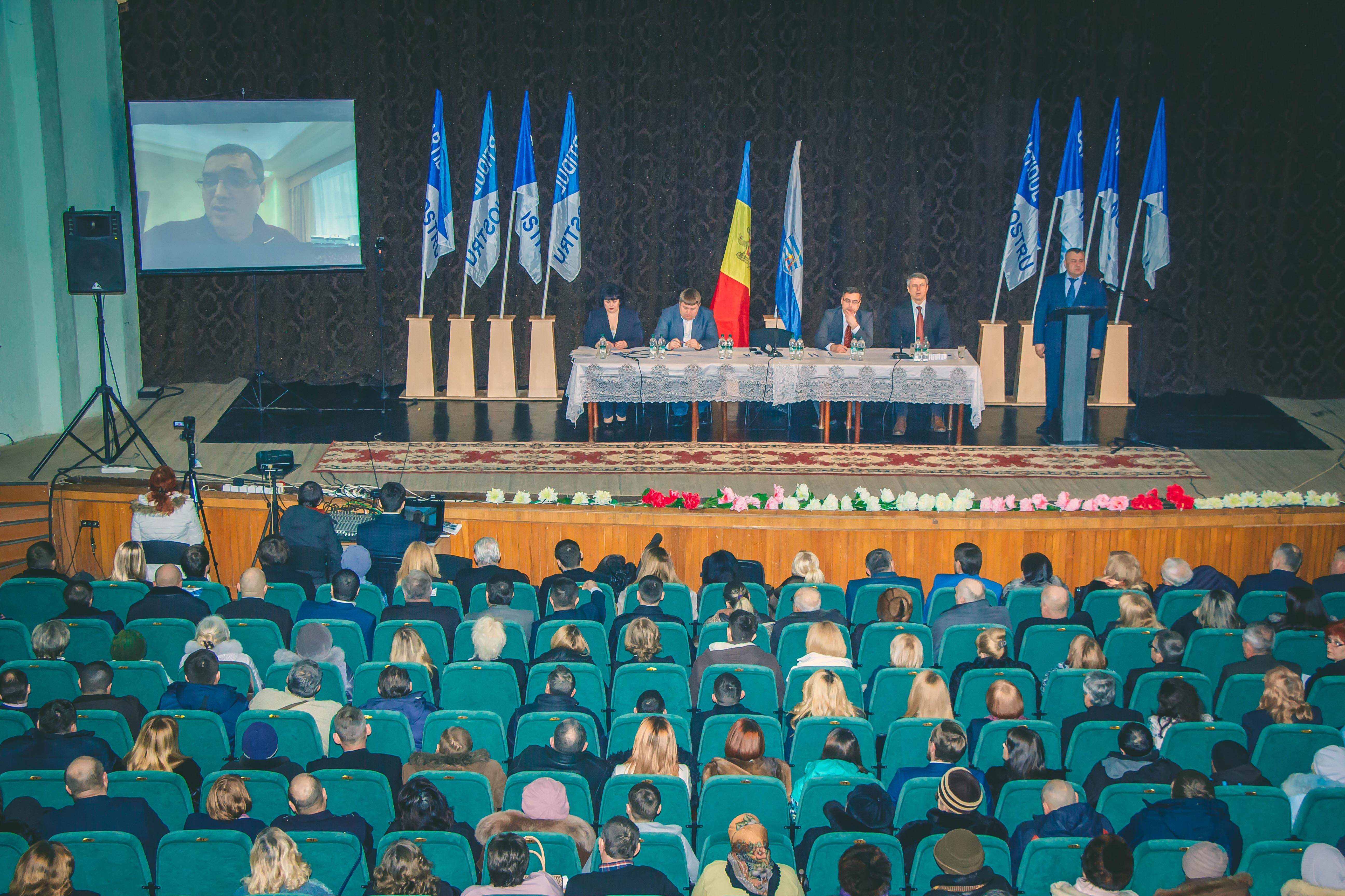 """Rîndurile """"Partidului Nostru"""" s-au completat masiv la Bălți (FOTO)"""