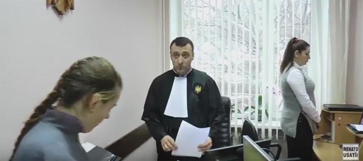 """Judecarea dosarului Usatîi, la solicitarea """"procurorului plahotniucist"""", are loc în regim închis (VIDEO)"""
