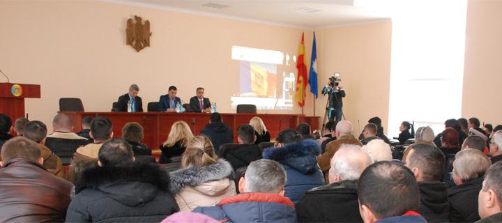 """Cahulul și-a ales delegații pentru participarea la Congresul """"Partidului Nostru"""" (FOTO)"""
