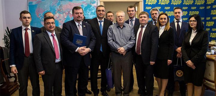 "Представители ЛДПР будут почетными гостями на съезде ""Нашей Партии"""