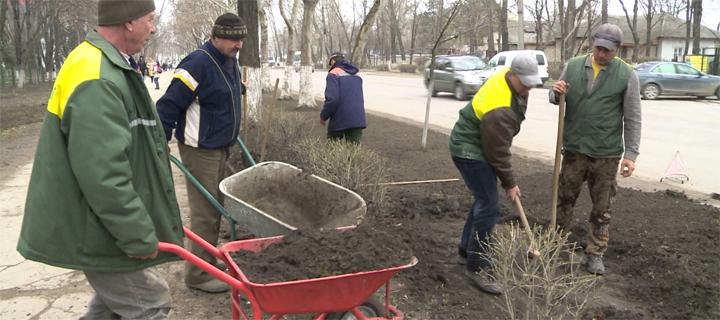 В Бельцах началась генеральная уборка города